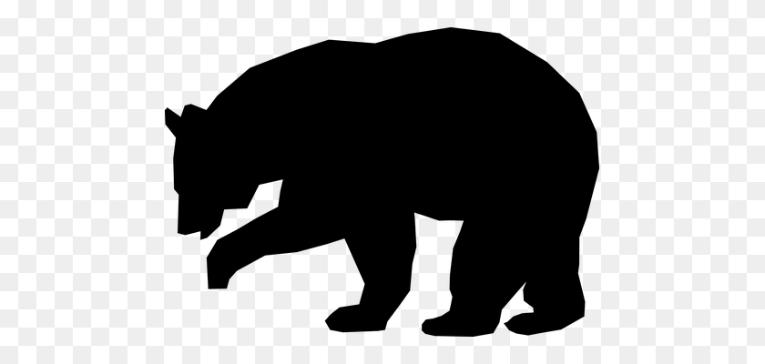 Grizzly Bear Clipart Beautiful - Mama Bear Clipart Black And White