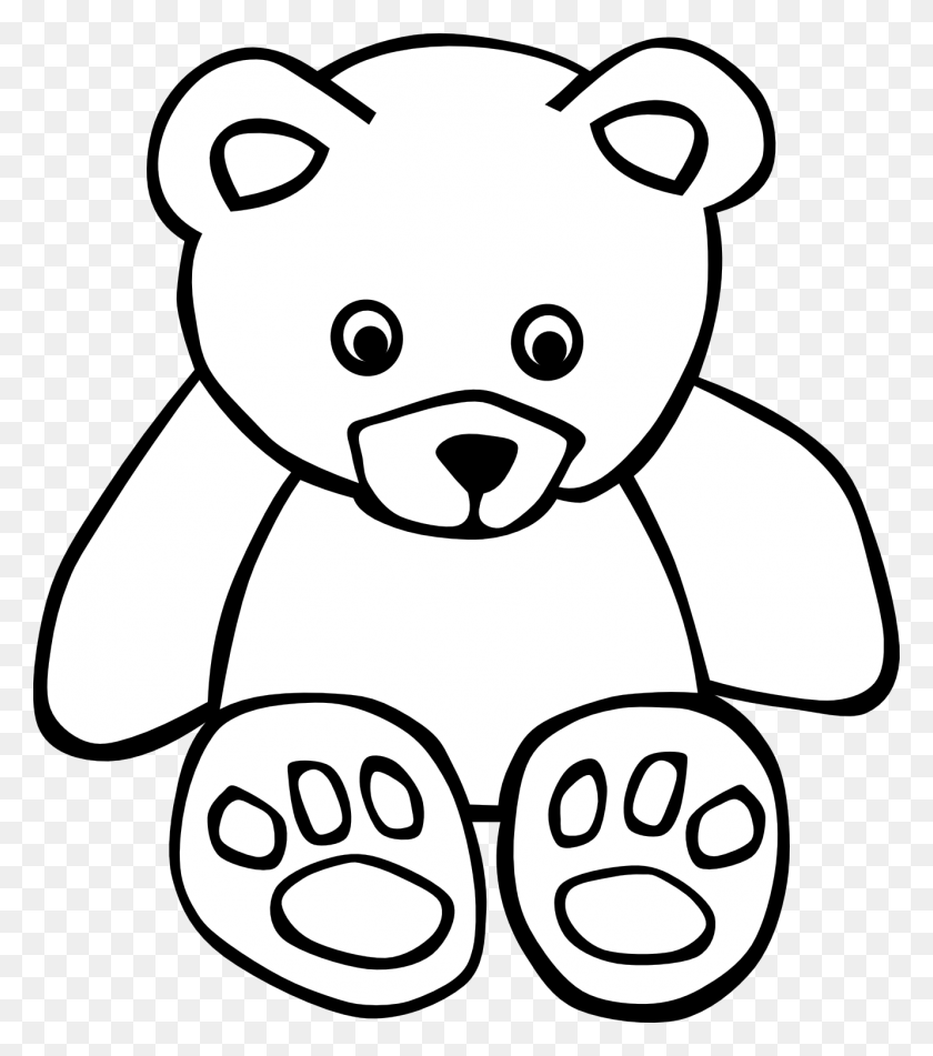 Grizzly Bear Clipart Teddy Bear - Woodland Bear Clipart