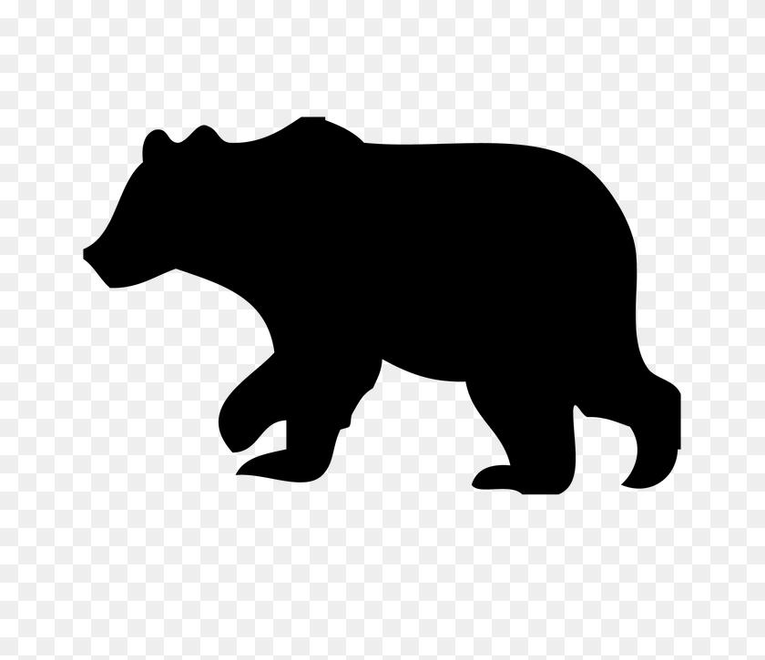 Grizzly Bear Clipart Woodland Bear - Woodland Animals Clip Art