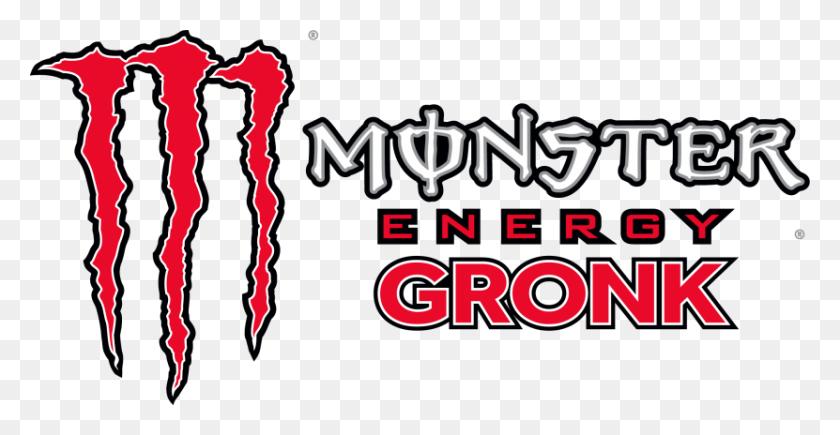 831x400 Gronk - Monster Energy Logo PNG