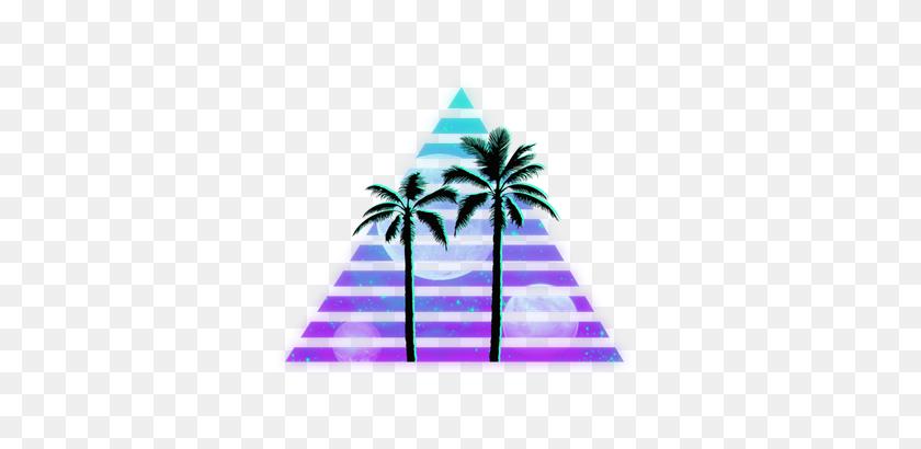 Grunge Palmtree Vapor Vaporwave Aesthetic Vaporwaveaest - Vaporwave Clipart