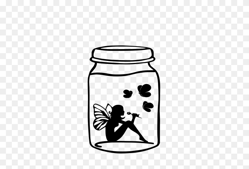 Gt Atmosphere Mythical Tales Wing - Mason Jar Clip Art