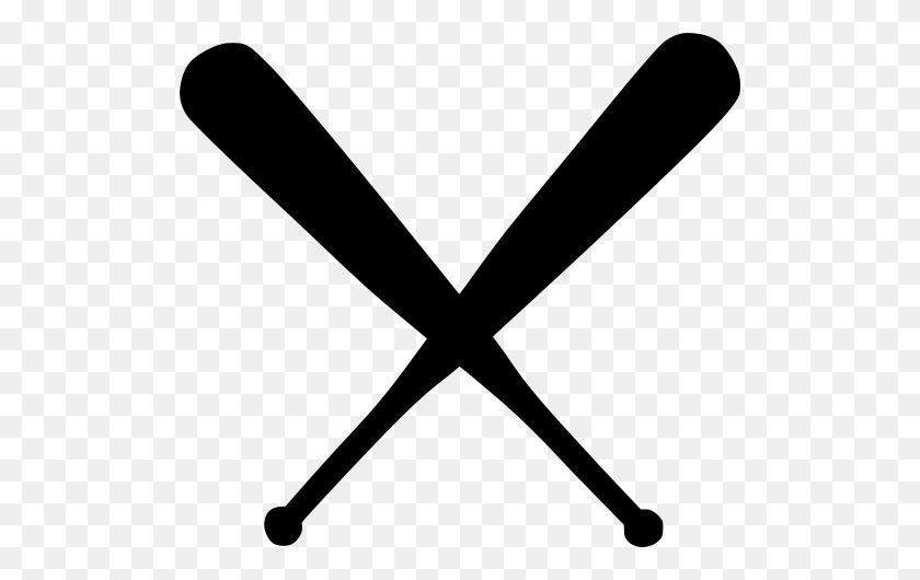 Gt Crossed Bat Bats Baseball - Crossed Baseball Bats Clipart Black And White