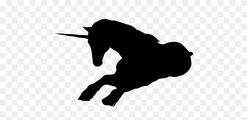 Unicorns - Unicorn Silhouette PNG – Stunning free