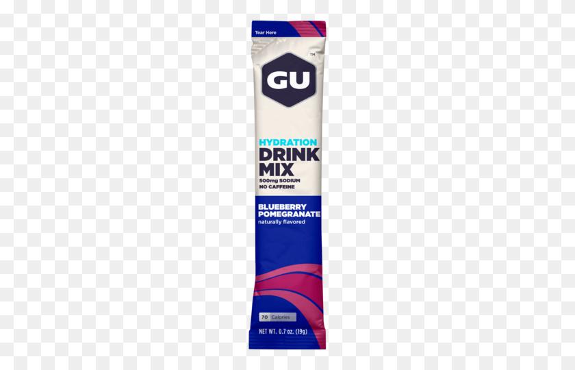 Gu Hydration Drink Mix Gu Energy Labs - Paper Tear PNG