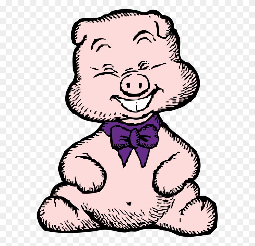 Guinea Pig Domestic Pig Porky Pig Download Cartoon - Petunia Clipart