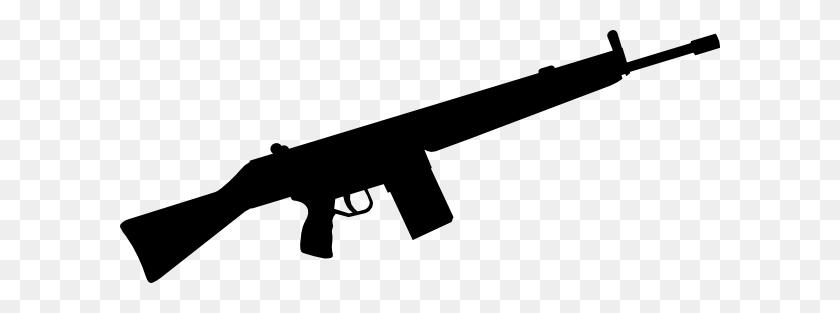 Gun Clipart Free Automatic Gun Silhouette Clip Art Free Vector - Ray Gun Clipart