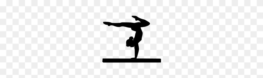 Gymnast Balance Gymnastics Gymnastics, Art - Back Handspring Clipart