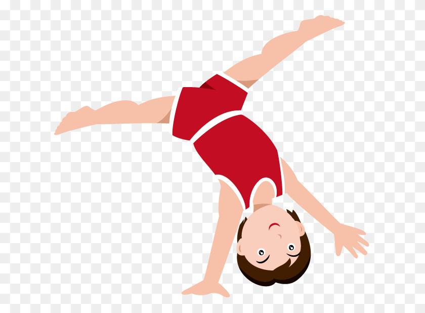 Gymnastics Clip Art Silhouette - Free Gymnastics Clipart