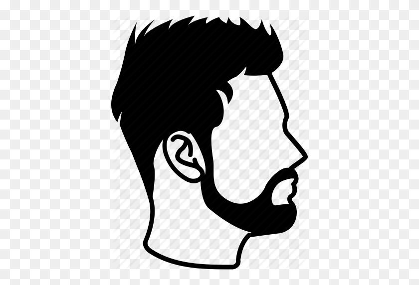 Hair, Haircut, Hairdressing, Hairstyle, Male, Mens, Short Sleek Icon - Haircut PNG