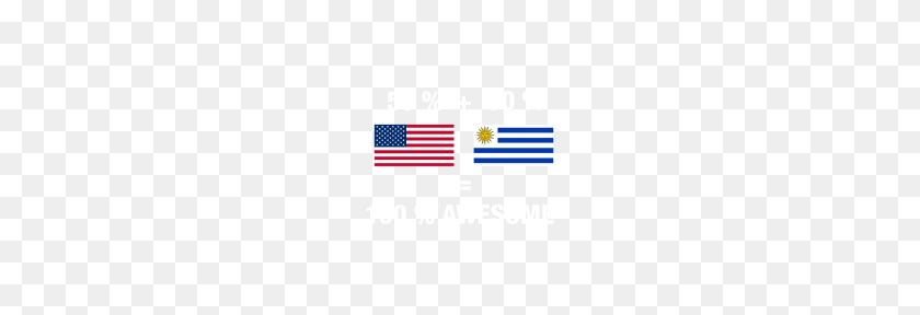 Half Uruguayan Half American Uruguay Flag - Uruguay Flag PNG