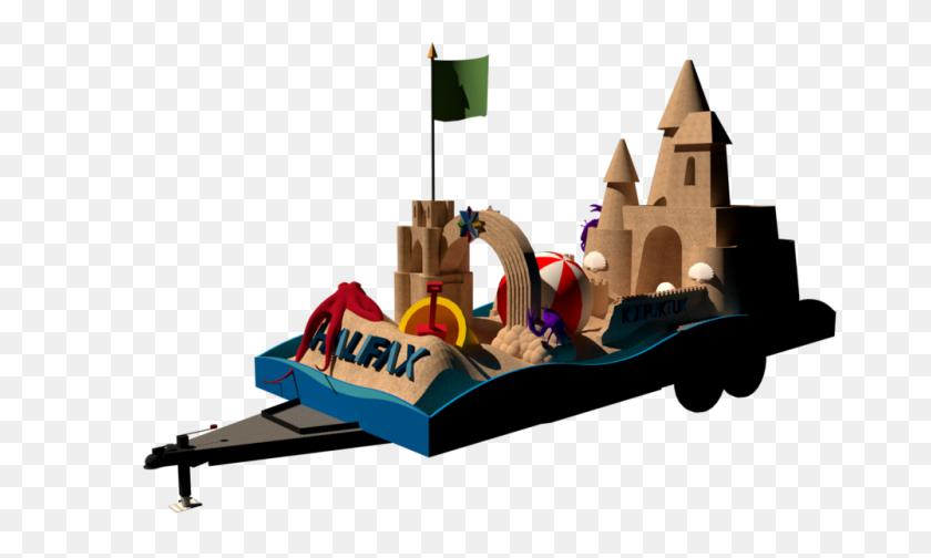 Halifax Diversity Parade Float Sperry Design - Parade Float Clipart