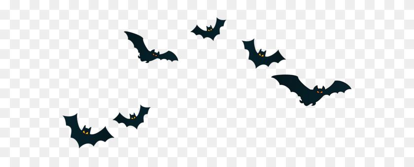 Halloween Bats Decor Png Clipart - Bats PNG