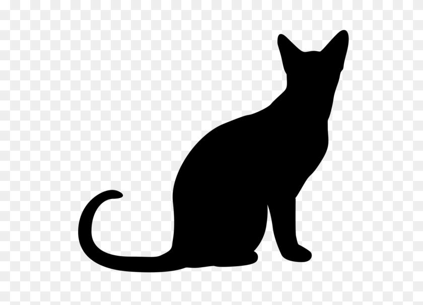 Halloween Black Cats Clip Art - Black Cat Clipart Black And White