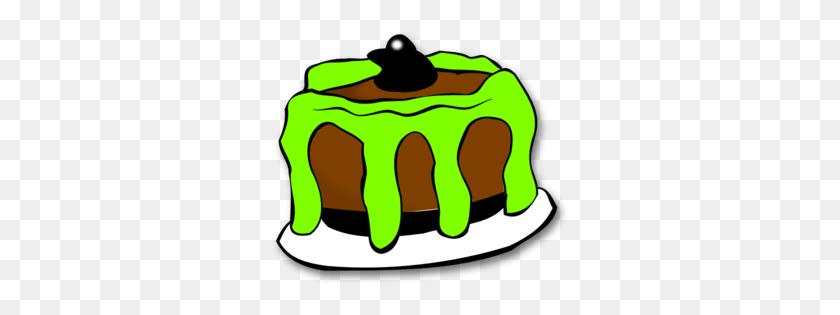 Halloween Cake Clip Art - Halloween Birthday Clipart