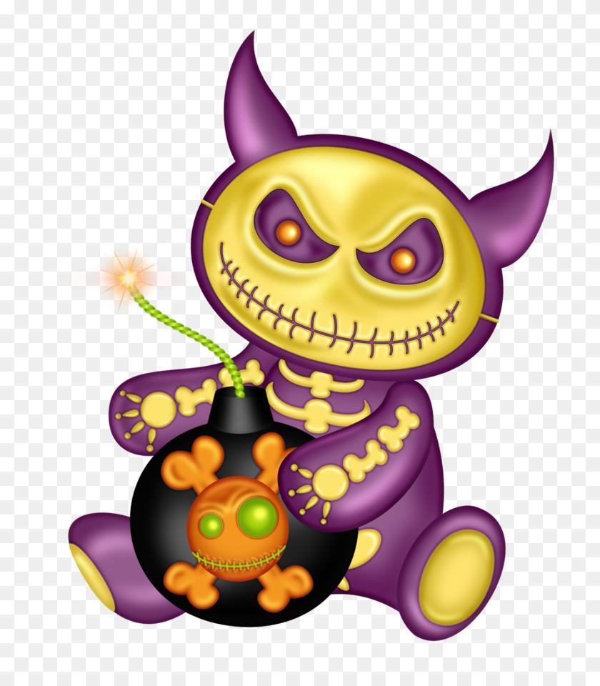 Halloween Clip Art Creepy - Scary Halloween Clipart