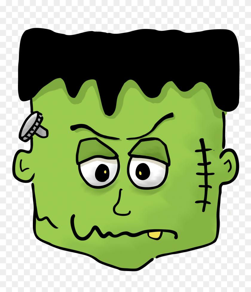 Halloween Clipart Frankenstein - Snow Leopard Clipart