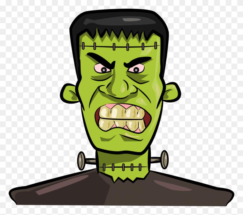 Halloween Frankenstein Kid Png - Frankenstein PNG