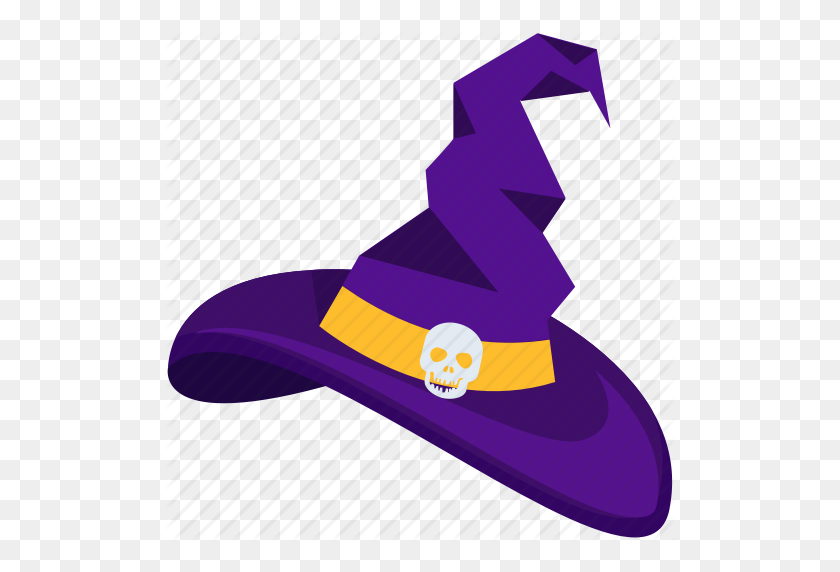 Halloween, Halloween Hat, Halloween Witch Cap, Halloween Witch Hat - Witch Hat PNG