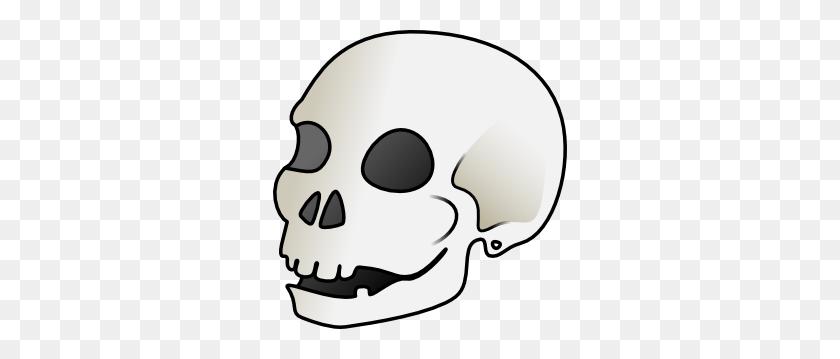 Halloween Skeleton Head Clipart - Skeleton Clipart