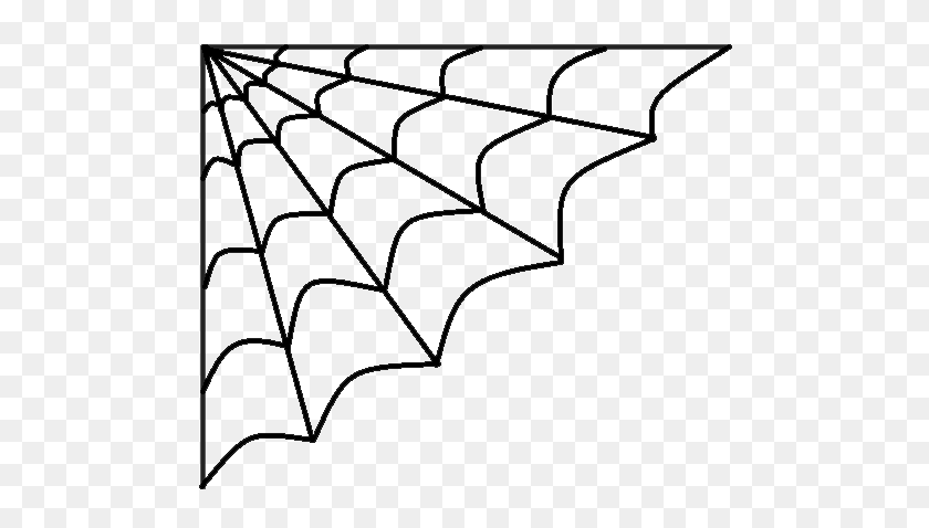 Halloween Spider Web Png Clipart Clipart Halloween - Halloween Clipart Black And White
