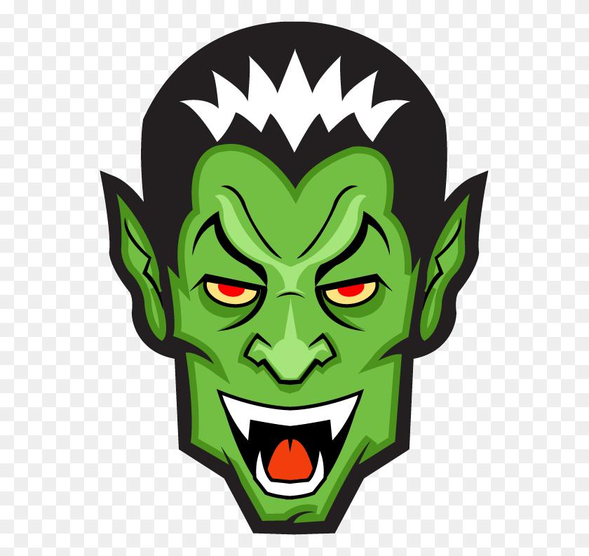 Halloween Vampire Clip Art - Frankenstein Head Clipart