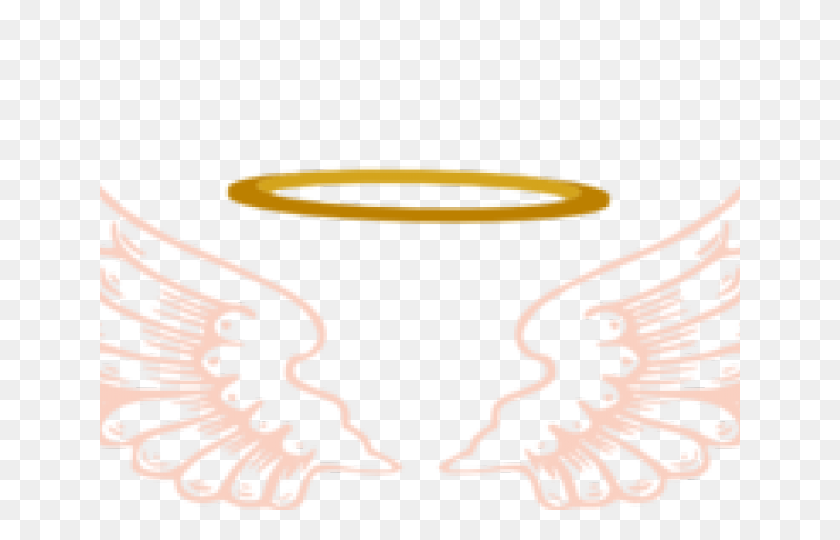 Halo Clipart Pink Angel - Angel Halo Clipart