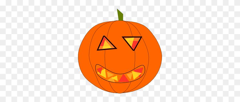 Haloween Pumpkin Clip Art - Tall Clipart