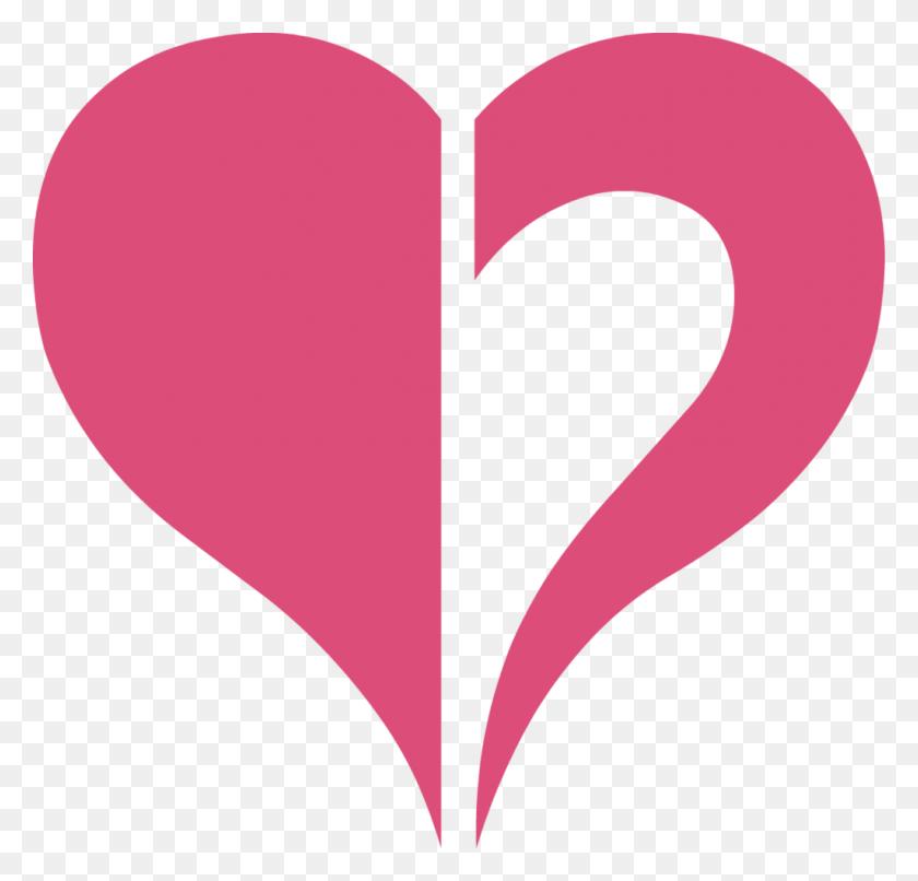 Halved Heart Shape Png Image - Heart Shape PNG