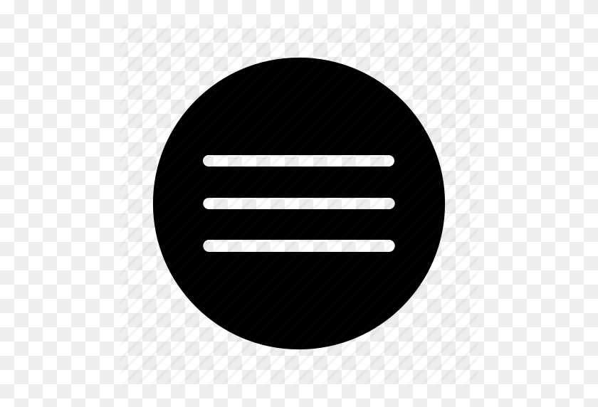Hamburger, Lines, Menu, Menu Icon Icon - Hamburger Menu PNG