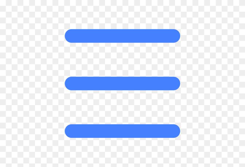 Hamburger Menu, List, Menu Icon With Png And Vector Format - Hamburger Menu PNG