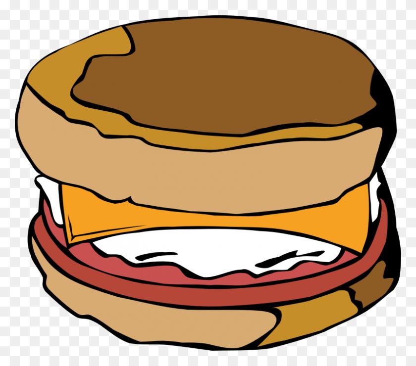 800x698 Hamburgers Clipart Tailgate Food - Tailgate Clipart