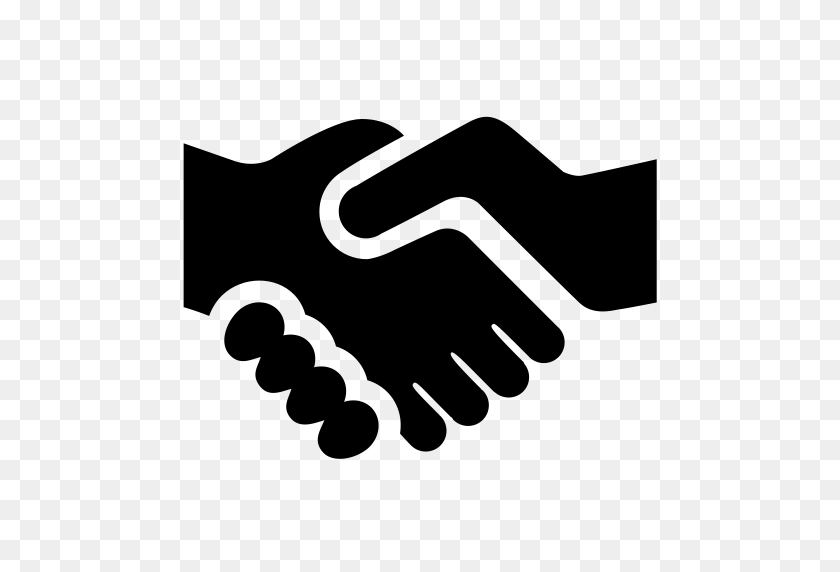 Hand, Business, Gestures Icon With Png And Vector Format For Free - Shaking Hands PNG