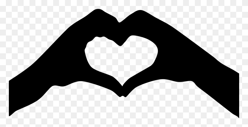 Hand Clipart Heart Shape - Heart Shape Clipart