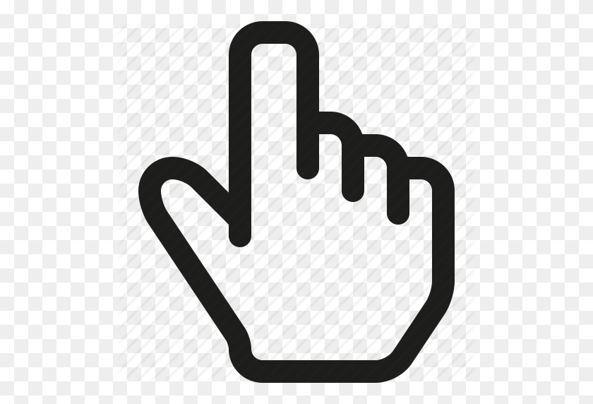 Hand Cursor Png Click, Cursor, Hand Icon - Mouse Hand PNG