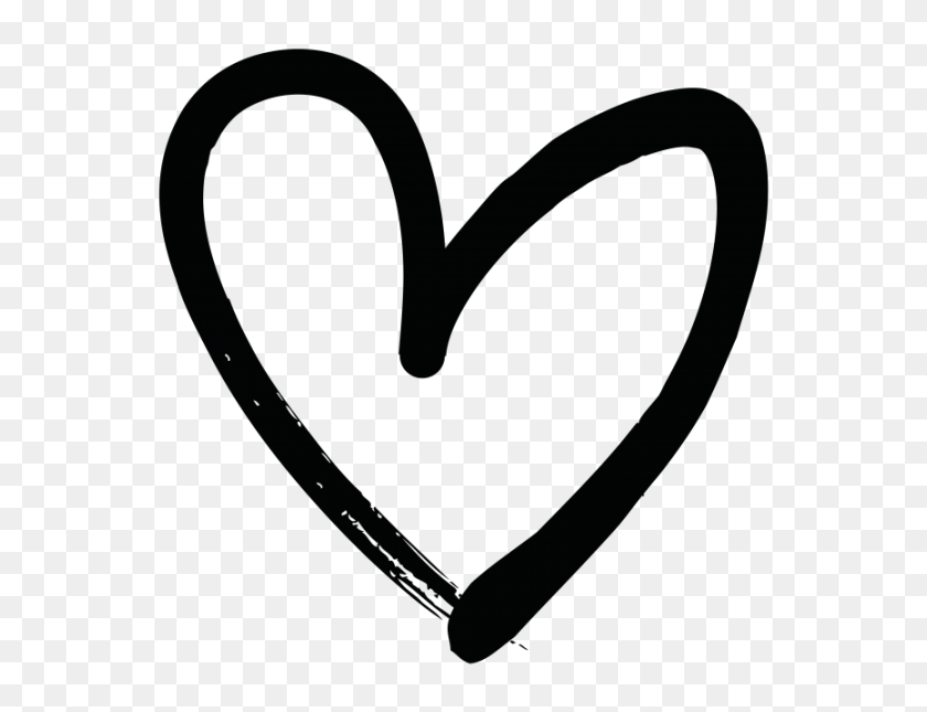 Hand Drawn Heart Transparent Png Image - Drawn Heart PNG