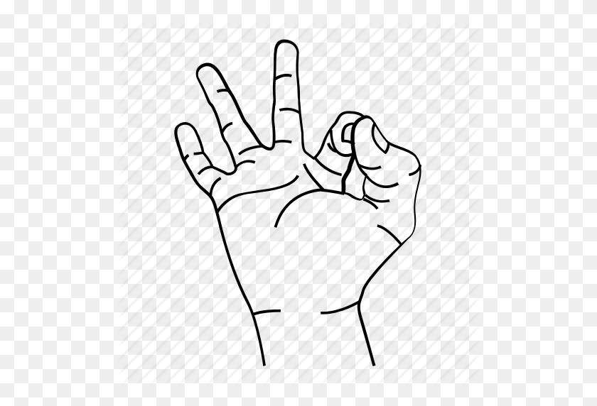 Hand, Hand Sign, Meditation, Meme, Ok, Sign Icon - Ok Hand PNG