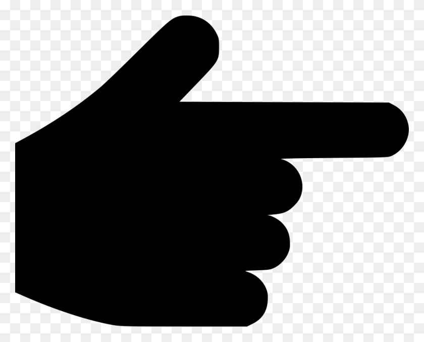 Hand Pointer Point Direction Choice Index Finger Png Icon Free - Pointer Finger PNG