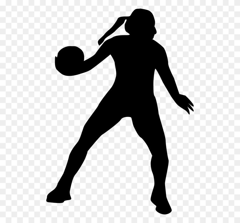 Handball Clipart Girl - Girl Kicking Soccer Ball Clip Art