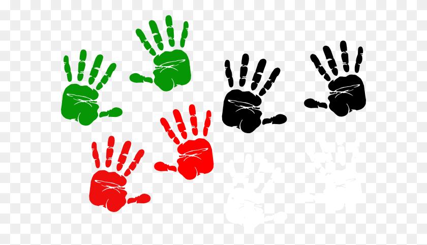 Handprint Clipart Palestine - Bloody Handprint Clipart