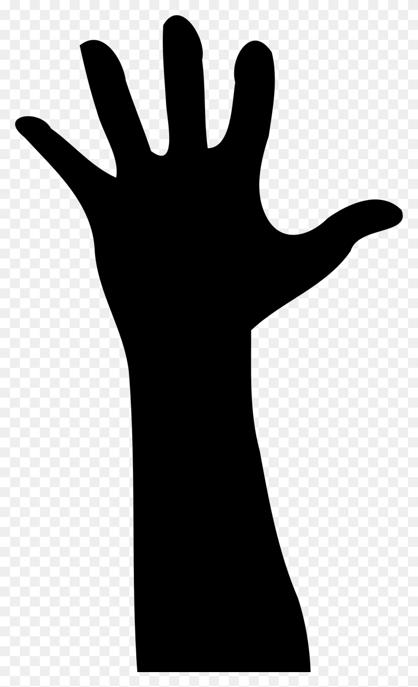 Hands Clipart Silhouette, Hands Silhouette Transparent Free - Hand In Hand Clipart