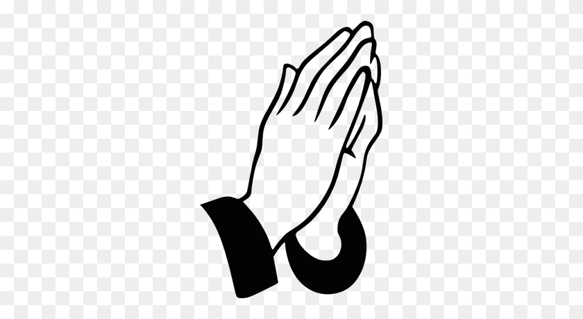 Hands Praying Open Transparent Png - Open Hands PNG
