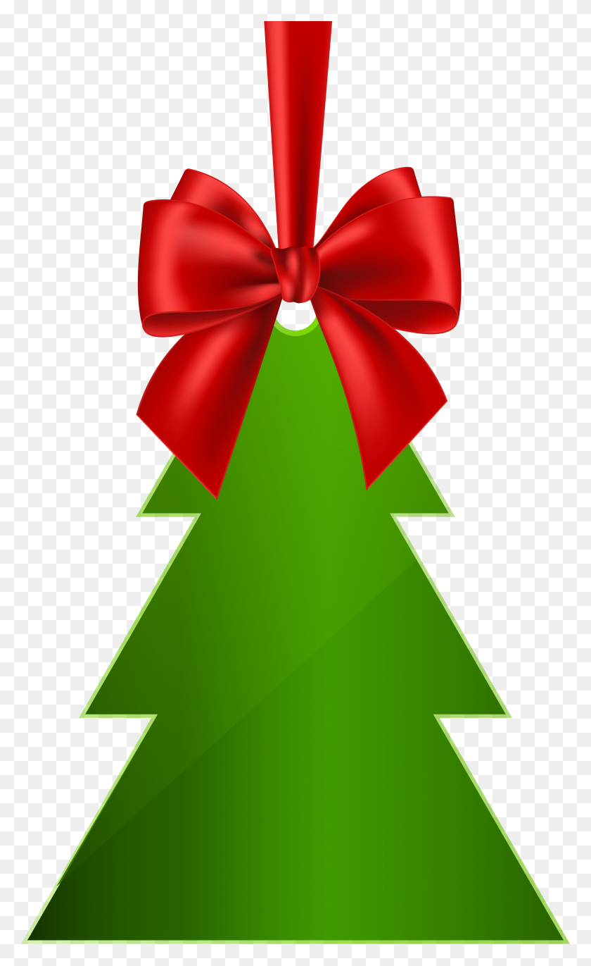 Hanging Christmas Tree Png Clip Art - Christmas Tree Clipart PNG