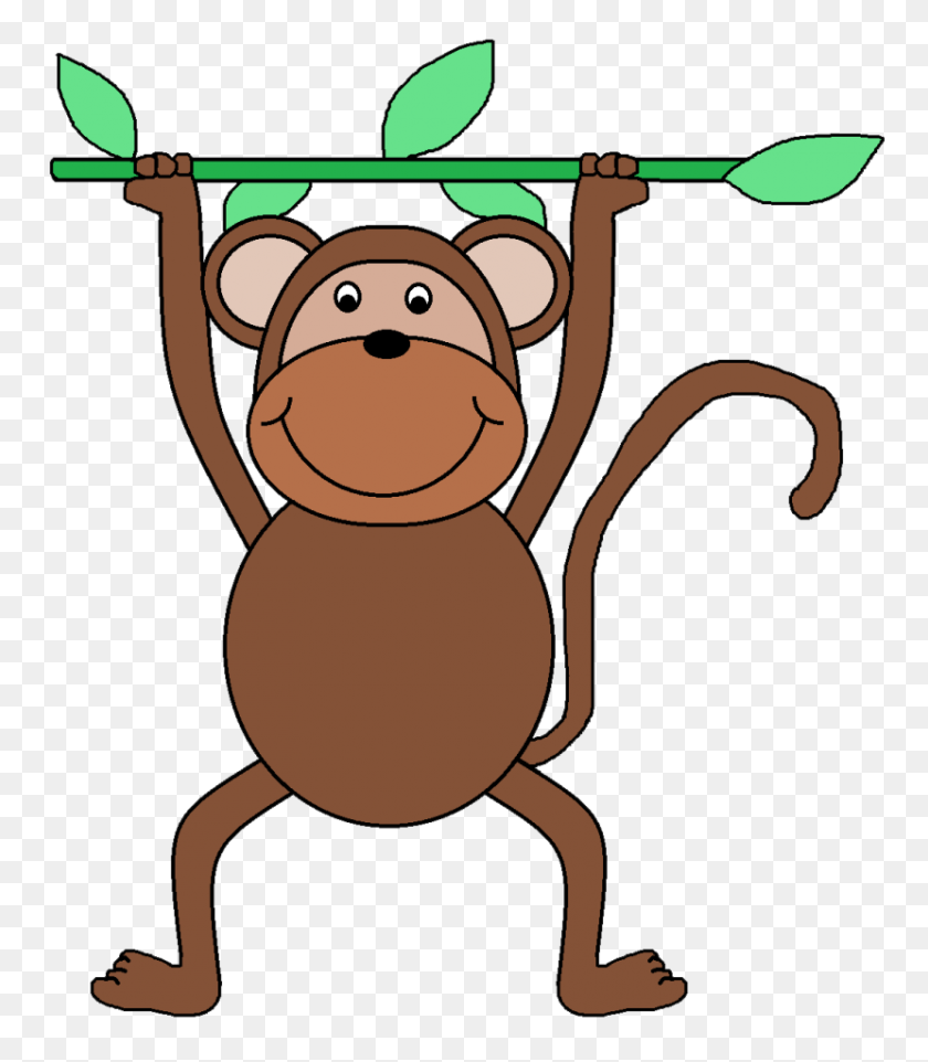 Best Free Monkey In Tree Clip Art Cdr » Free Vector Art, Images, Graphics &  Clipart