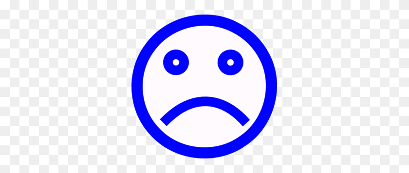 Happy And Sad Face Clip Art - Sad Smiley Face Clip Art
