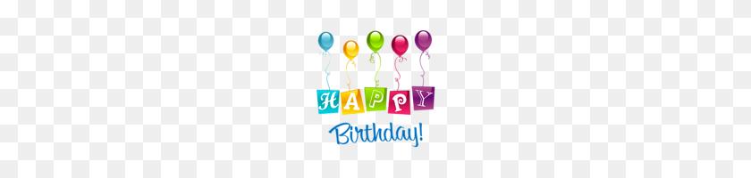 Happy Birthday - 70th Birthday Clip Art