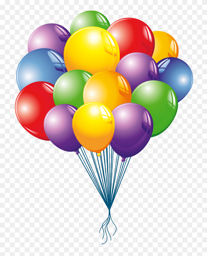 Happy Birthday Balloons Clip Art - Happy Birthday Balloons Clip Art