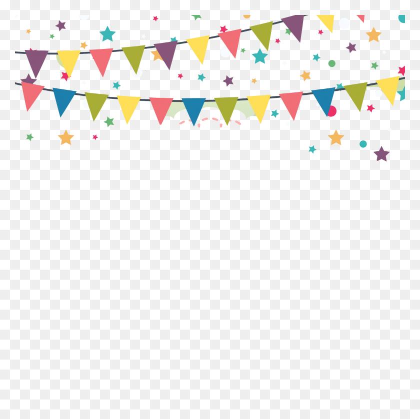 Happy Birthday Png Celebration Vector, Clipart - Celebration Border Clipart