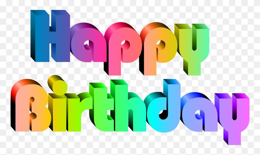 Happy Birthday Transparent Clip Art - Birthday Clipart Transparent