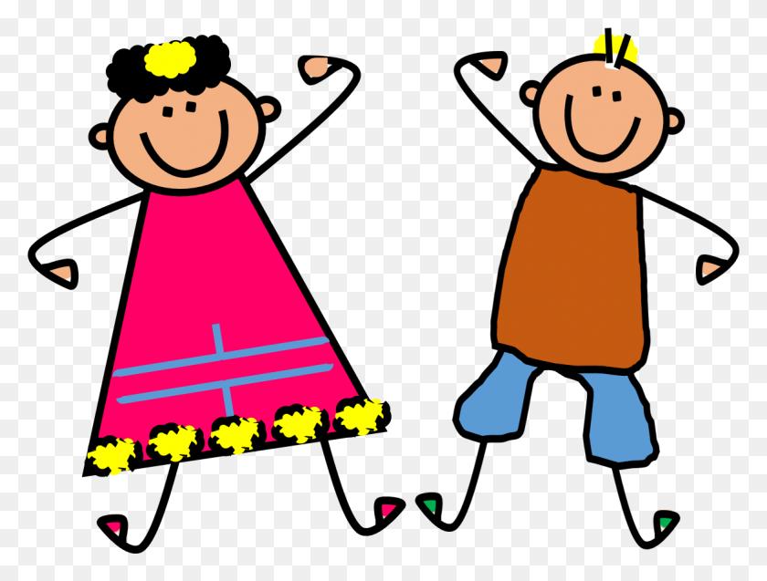 Happy Children Clip Art, Royalty Free Children Clip Art, Vector - Happy Kids Clipart
